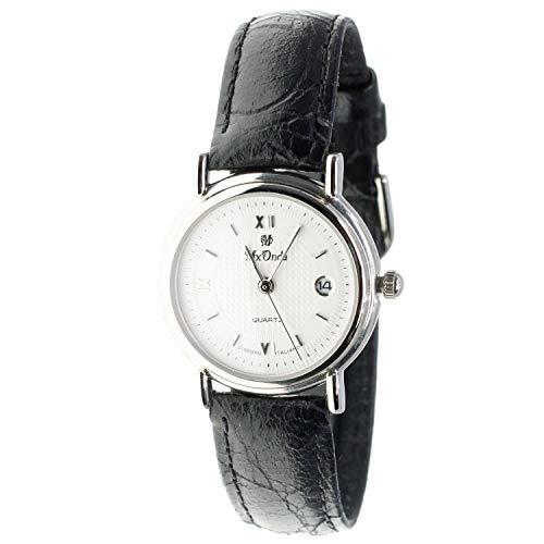MX-Onda Mod. 00805 - Reloj de Cuarzo analógico para Mujer con Calendario