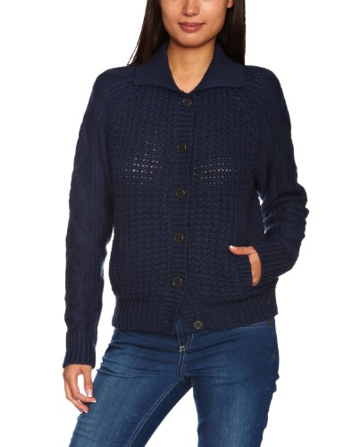 Levi's Women'Strickjacke, gestreift Gr. Large, Blau - Dunkelblau