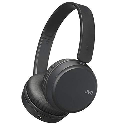 JVC HA-S35BT - Auriculares (Inalámbrico, Diadema, Binaural, Supraaural, 20 - 20000 Hz, Negro)