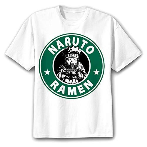 TSHIMEN Camisetas Hombre One Piece Naruto 2018 Camiseta Hombre/Mujer/niños japón Anime FUUNY Camisetas Camiseta Superior XXL