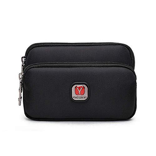 ZXL Koppelingstas voor heren, tasje voor mobiele telefoon, tassen met riem, waterdichte tas voor sport