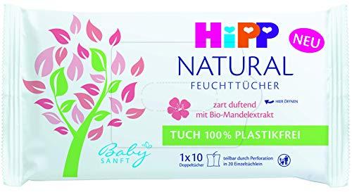 Hipp Babysanft Babysanft Feuchttücher Natural zart duftend, 58 g