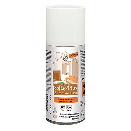 Best Friend Bayer Pet Care Antiparassitario per Cane solfac Plus Automatic casa ml. 150, Multicolore, Unica