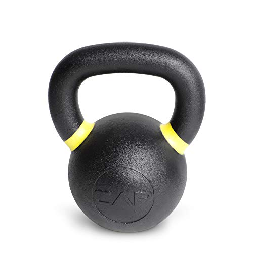 CAP Barbell Cast Iron Competition Kettlebell Weight, 35 Pounds