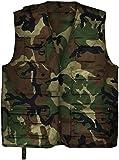 Outdoor Jagd- Angler Weste mit vielen praktischen Taschen? Farbe Woodland Größe L
