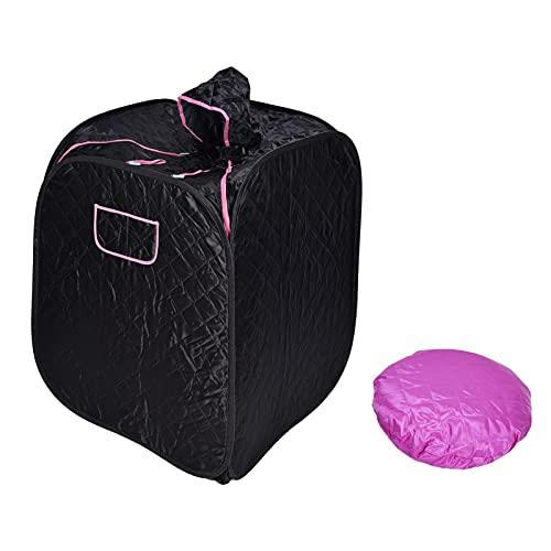 Sauna de vapor, caja de sauna de vapor portátil y de tamaño compacto para adultos para fumigación para vapor