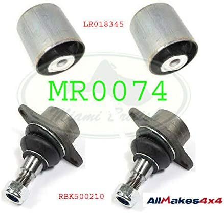UPPER SUSPENSION ARM FRONT BUSH All items in the store + JOINT RANGE x4 SET BALL It is very popular 03-12