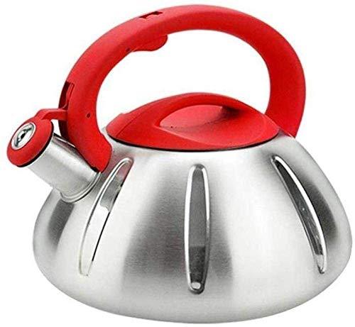 DZNOY Tetera de Tetera para Acampar Kettle para el Calentador de Agua antihot de café para su hogar Tetera
