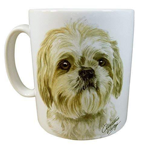 Waggy Dogz SHIH TZU CHIEN CHIOT Fabriqué au Royaume-Uni Cadeau Présent qualité Chine Tasse mug théière