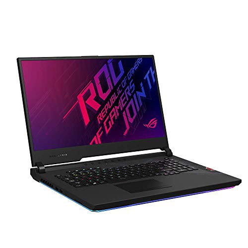 ASUS ROG Strix SCAR 17 G732LXS 43,9 cm (17,3 Zoll, Full HD, IPS-Level, 300 Hz, matt) Gaming-Notebook (Intel Core i7-10875H, 16GB RAM, 512GB+512GB SSD, RTX2080 S), W10) Original Black
