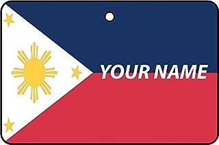 Philippines Flag Custom Car Air Freshener