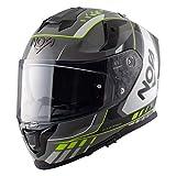 NOS Helmets Casco NS-10 XL Mig Flour Yellow