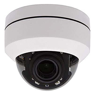 Outdoor 5MP PTZ IP Dome POE Security Camera Pan Tilt 4xOptical Zoom 165FT IR Night Vision Motion Detection Remote View Onvif RTSP Support AT-800DZ