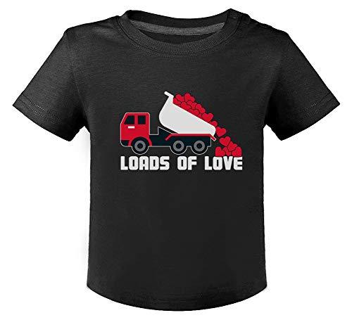Saint Valentin - Loads of Love - Naissance T-Shirt Bébé Unisex 18M Noir