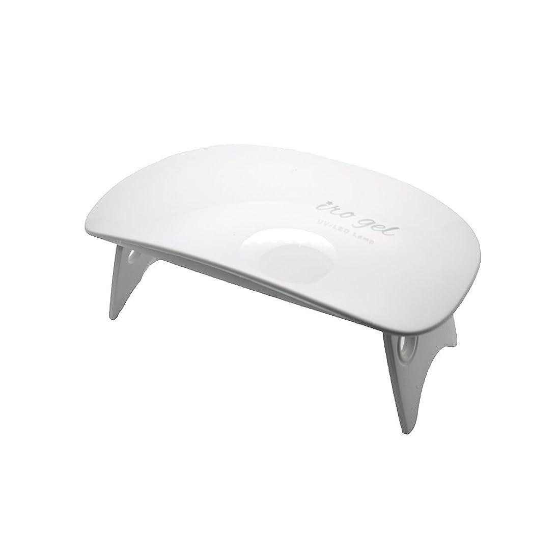単調な特権的うつirogel イロジェル 6W UV LED ネイルドライヤー ライトミニ UVライト LEDライト UVレジン もOK USB専用