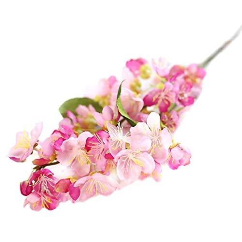 Coiffe Bandeau Élégant Doux Élégant Bande De Cheveux Mignon Mode Chic Coiffure Bande De Cheveux Faux Fleurs Feuille Fleurs De Mariage Bouquet De Fête Décor ( Color : Hot Pink , Size : One Size )