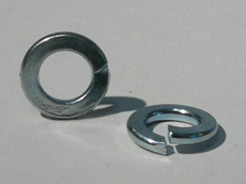 25 Stück Federringe DIN 127 Form B, Stahl galvanisch verzinkt (Verzinkter Stahl, M6)