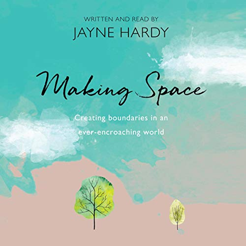 Making Space audiobook cover art