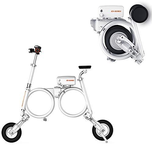 Pc-Hxl Opvouwbare elektrische fiets voor volwassenen met 300 W borstelloze motor met led-licht E-vouwfiets voor volwassenen