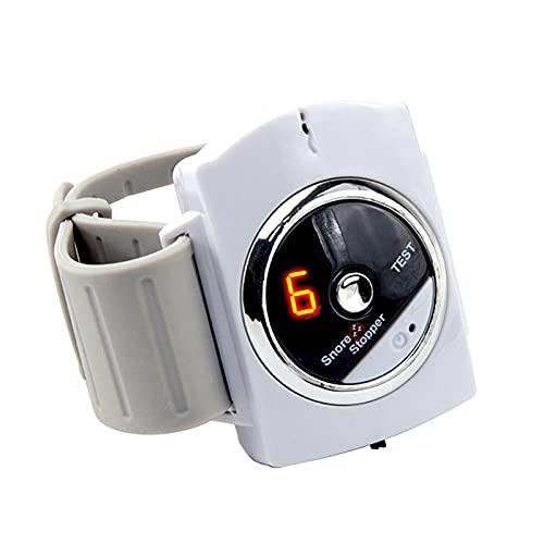 WOERD Sleep Connection Pulsera Anti Ronquidos Reloj de Pulsera Inteligente Antirronquidos Biorretroalimentación Anti-ronquidos Sensor Banda De Muñeca para Hombres Mujeres(Size:3pcs)