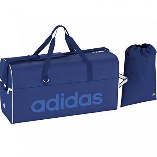 adidas Tasche Linear Performance Teambag, Collegiate Royal/Bright Royal/White, 22 x 57 x 30 cm, 41.5 Liter, S24699