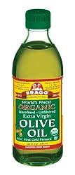 Bragg's organic olive oil.