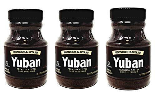 Yuban, Premium Instant Coffee, EZ Open, 8oz Jar (Pack of 3)