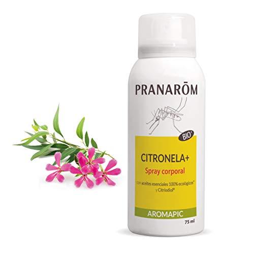 Pranarôm - Aromapic - Spray Cuerpo Citronela+ Bio - Spray Corporal - 75 ml