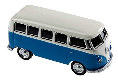 AutoDrive, USB 2 Flash Drive, Bus T1 Bulli, 32 GB, blau