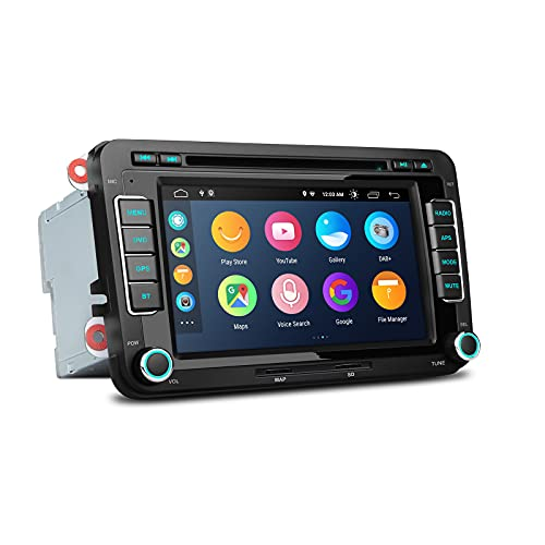 XTRONS Android 10 Car Stereo Radio DVD Player 7''Touch Screen GPS...