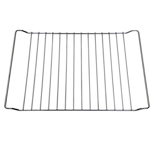 445x370x25 mm UNIQDEALZ Backrost/Backgitter/Ofengitter verchromt passend für Whirlpool Gruppe Bauknecht Whirlpool Ignis IKEA Algor Herstellerteile-Nr. 481245819334