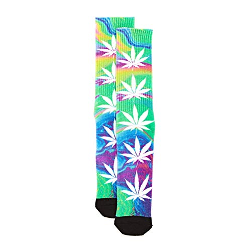 Huf Skateboard Socks Good Trip Plantlife Green