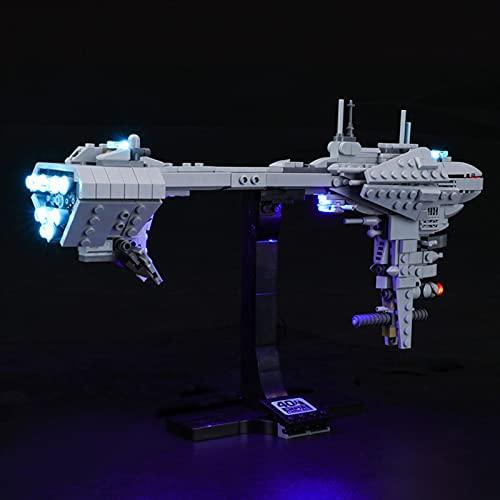 icuanuty Kit de Iluminación LED para Lego 77904, Kit de Luces Compatible con Lego Star Wars Nebulon-B Frigate (No Incluye Modelo Lego)