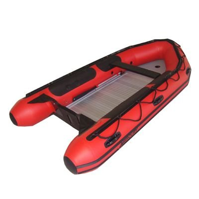 Great Features Of MERCURY 2014 Inflatable Boat 430 Heavy Duty 13'7 Red Hypalon Aluminum & FRP Floor