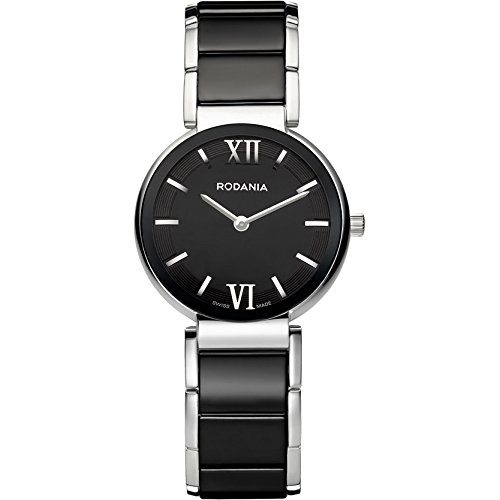 Rodania 25062-46 - Reloj para Mujeres, Correa de Acero Inoxidable