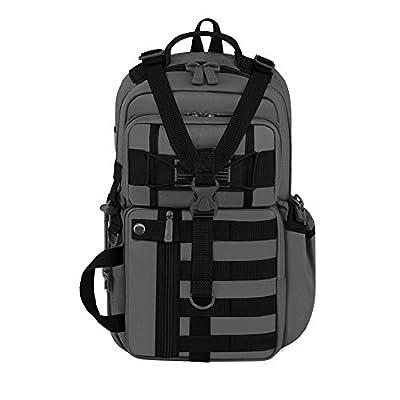East West U.S.A RT525 Tactical Molle Assault Sling Shoulder Cross Body One Strap Backpack, Digital Color/Black