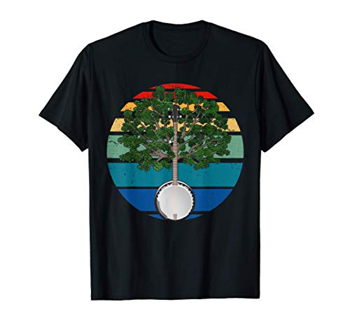 Banjo Player Gift Country Music Banjo Camiseta Bluegrass...