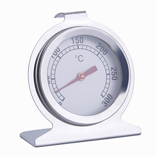 Termómetro de Horno de Acero Inoxidable Cocina para cocinar Carne Herramienta 300 ° C Nuevo Plateado