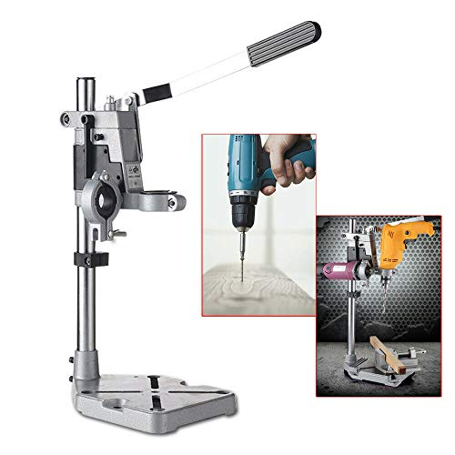 New Double Hole Drill Stand Electric Bench Drill Stand/Press Power Tool Clamp Base Frame Holder Brac...