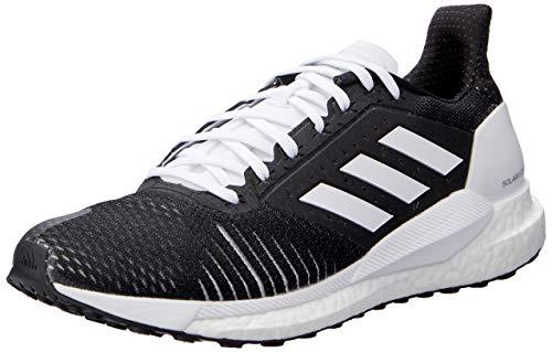 Adidas Solar Glide St W, Zapatillas de Deporte Mujer, Negro (Negbás/Ftwbla 000), 40 2/3 EU