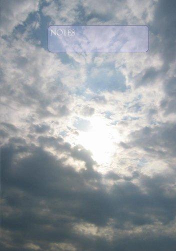 Himmel - Notizbuch / Tagebuch: DIN A5, liniert