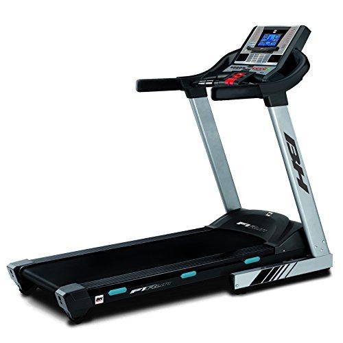 BH Fitness i.F1 Run Cinta de Correr, Adultos Unisex, Gris/Ne