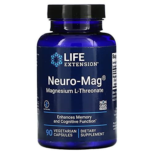 Life Extension, Neuro-Mag, Magnesium L-Threonate, 90 Veggie Caps