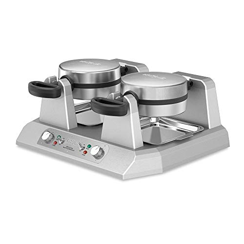 Best Price Double Belgian Waffle Maker 120V Waring Commercial WW250X