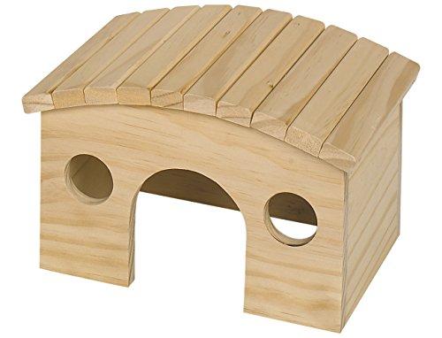 Nobby Woodland-runda Maisonnette en Bois pour Rongeur 29,1 x 22,5 x 16,7 cm
