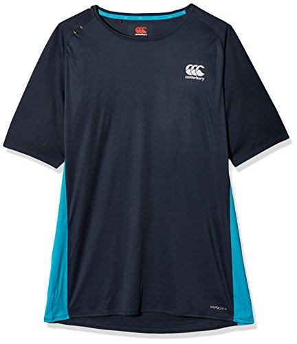 Canterbury Hommes Coeur Vapodri Superlight Polyester Logo Séchage Rapide T-Shirt