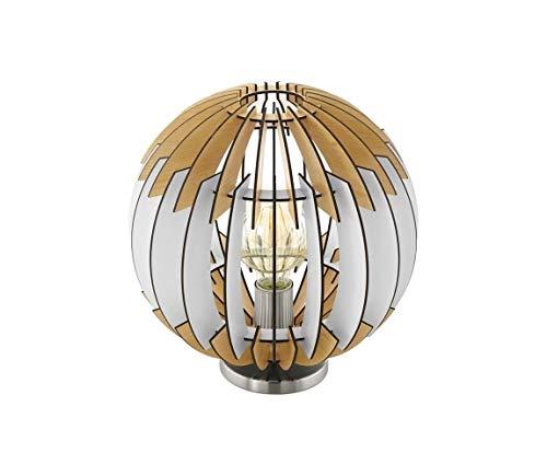 Eglo 79142 - Tischlampe OLMERO I 1xE27/60W/230V