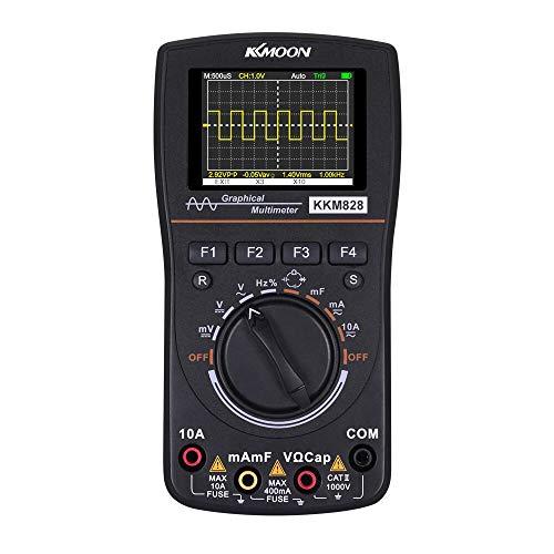 KKmoon® - Multimetro 2 en 1 para ensayo electrónico
