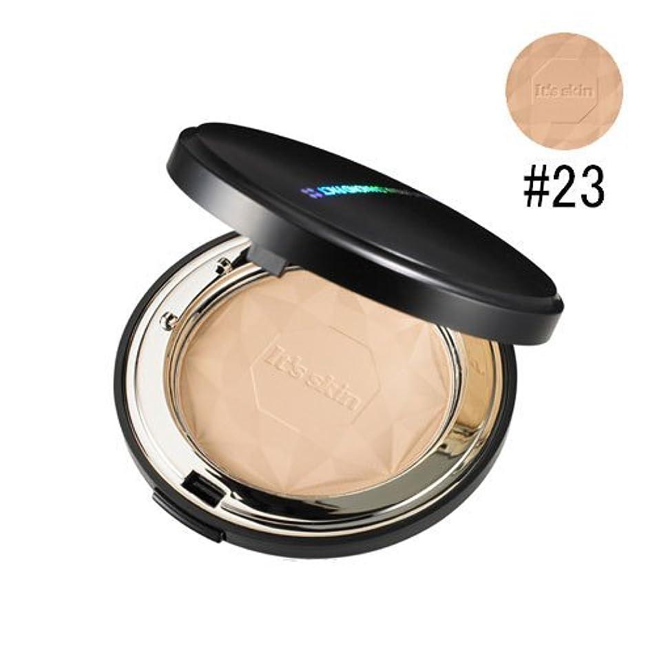 効率エスカレート最もIt's skin イッツスキン プリズマ ダイアモンドパクト SPF25 PA++# 23号ナチュラルベージュ
