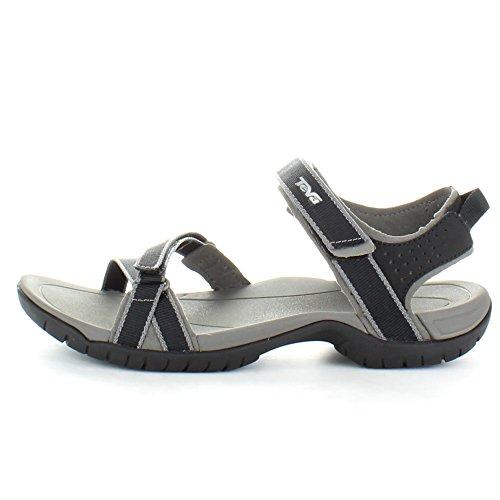 Teva Women's Verra Sandal, Black/Grey, 9 M US